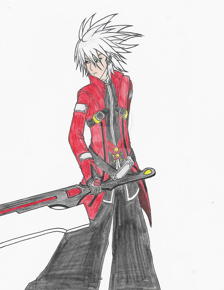 Re-draw: Ragna the Bloodedge by turtwigfan505