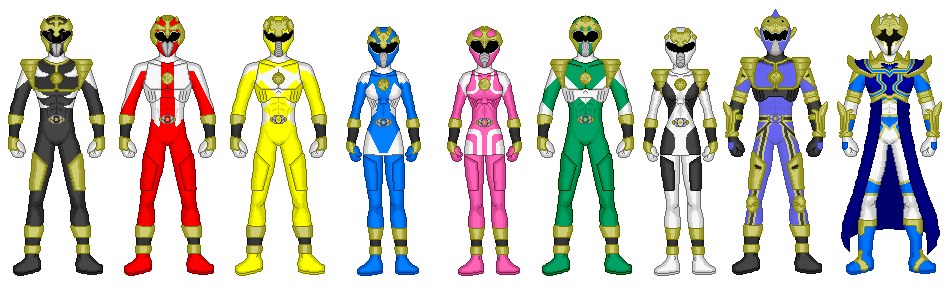 Power Rangers: Beast Strike by heavenlymythicranger
