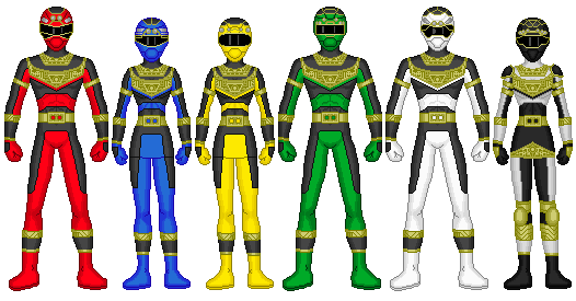 Power Rangers ZXT by heavenlymythicranger