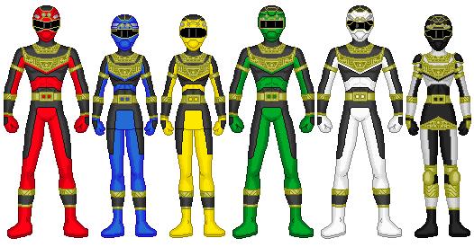 Power Rangers ZXT by heavenlymythicranger