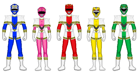 Galaxy Rangers by heavenlymythicranger