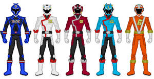 RPM Lost Series Rangers