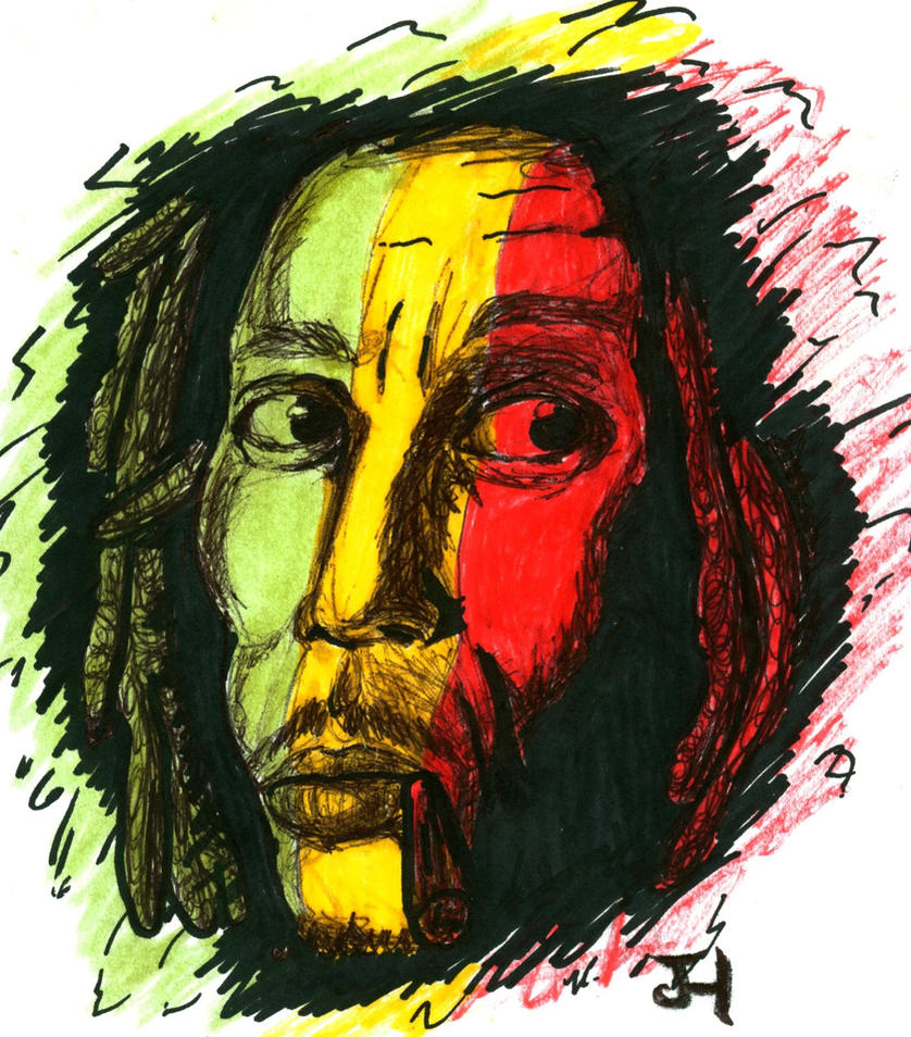Bob Marley by DrMonsterMash on DeviantArt
