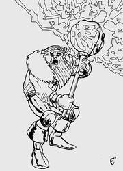 Thor Ink by IlNedo