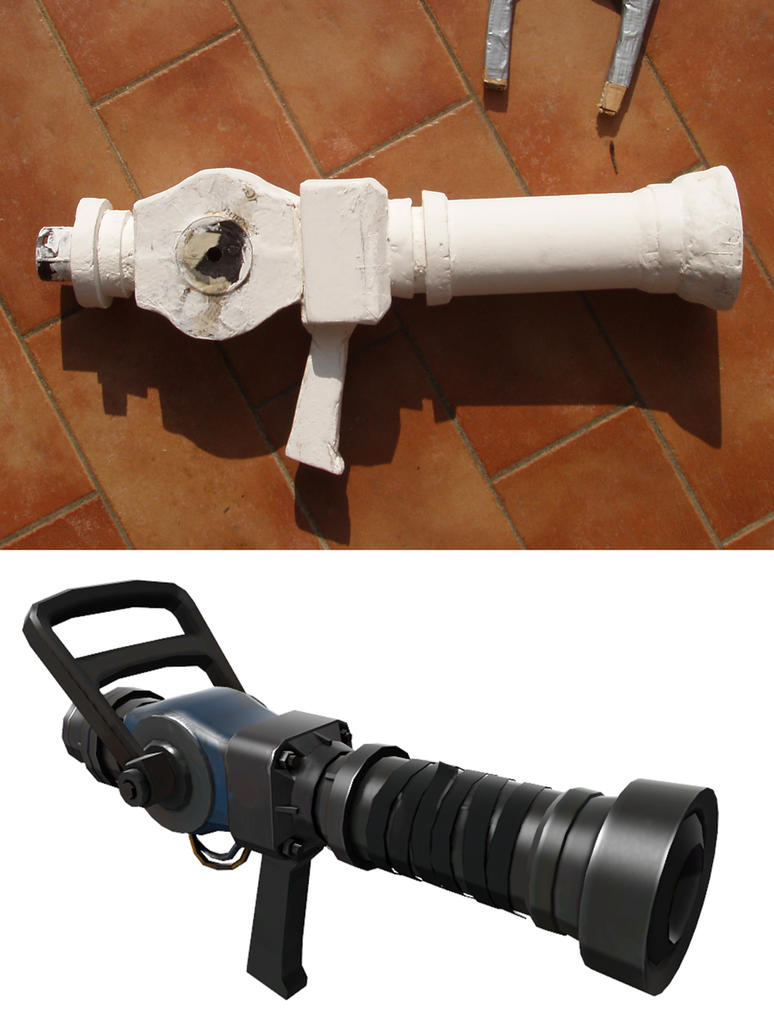 TF2 Cosplay WIP Medigun by IlNedo