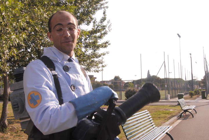 TF2 Blue medic cosplay by IlNedo