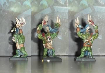 Warhammer Wild Orc 2 by IlNedo