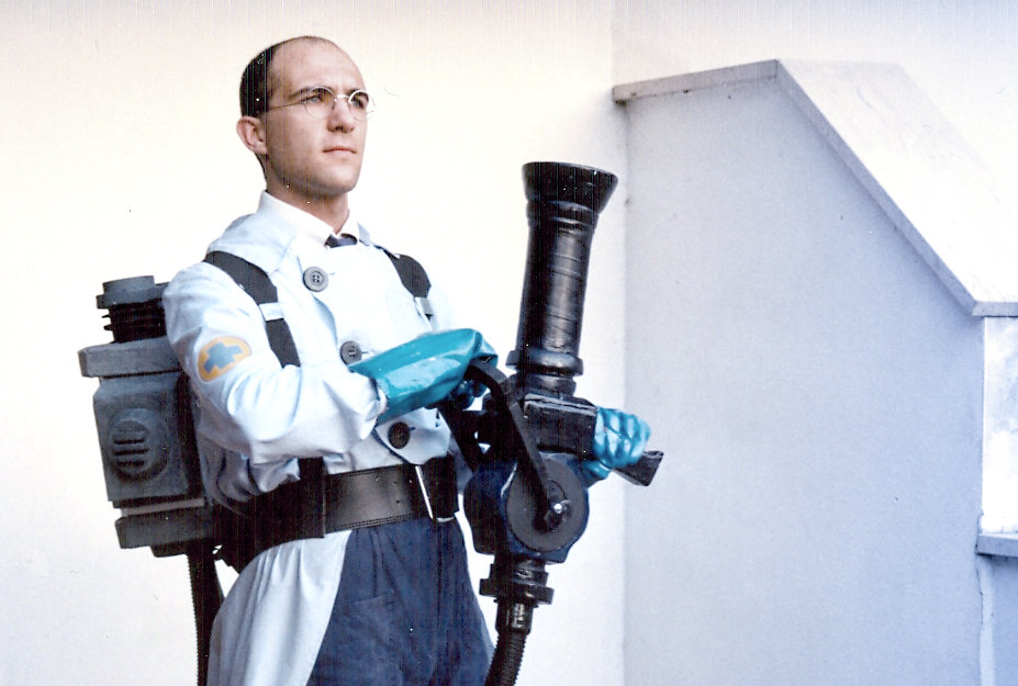 TF2 Blue Medic Cosplay 4 by IlNedo