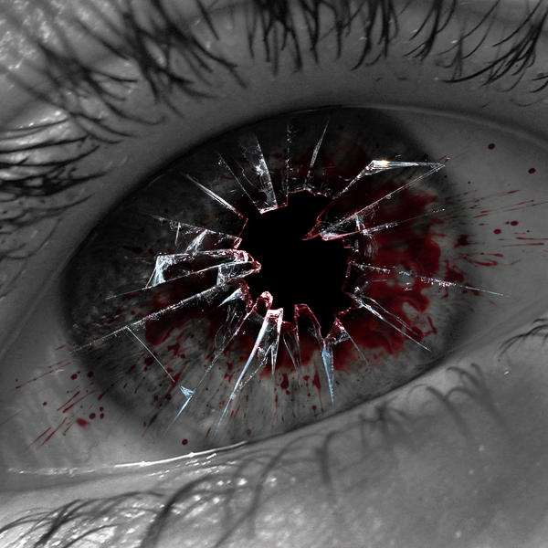 Broken Eye... by CJDevil