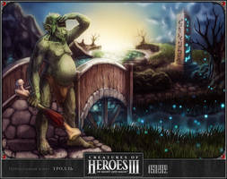 HoMM III: troll by 1ns0lence