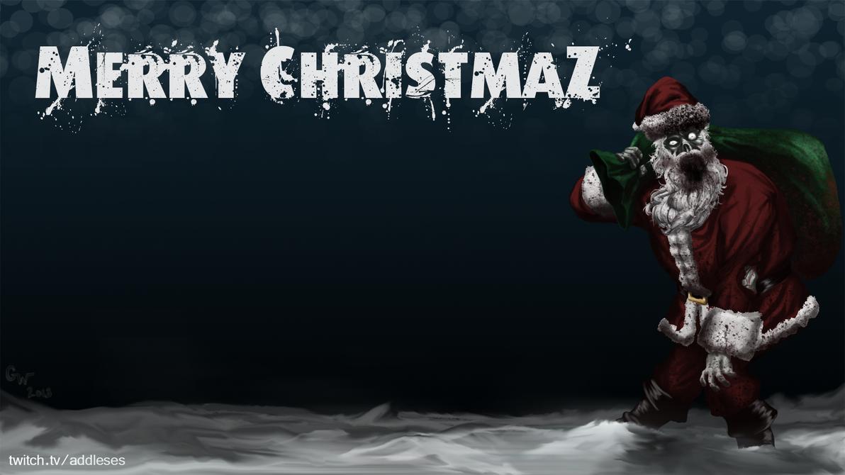 DayZ Santa - Wallpaper by addleses