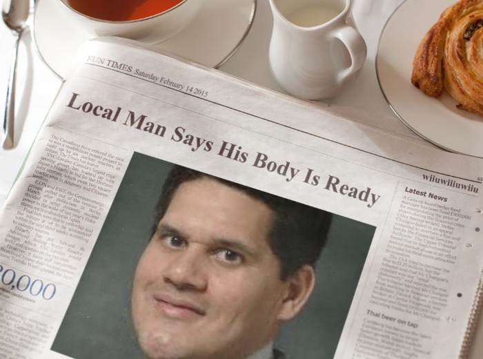 This Reggie guy is all over the news??? by SNESS107