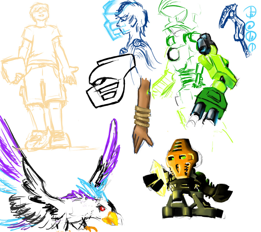 Tablet Sketchdump 1 by ToaTiome