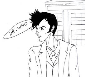 Dr Who - David tennant by RyoRin00