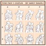 Drawing meme: Couple Poses