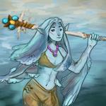 Legend of Zelda RPG Zora Character