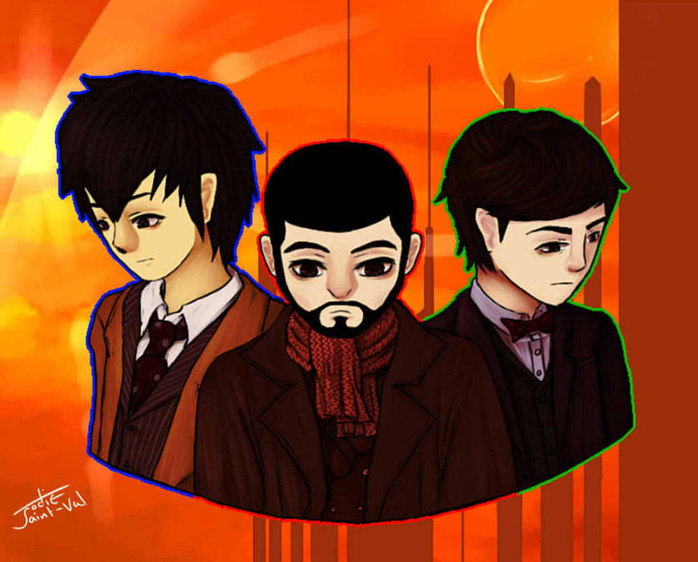 My Favorite Trio by diessysaysso
