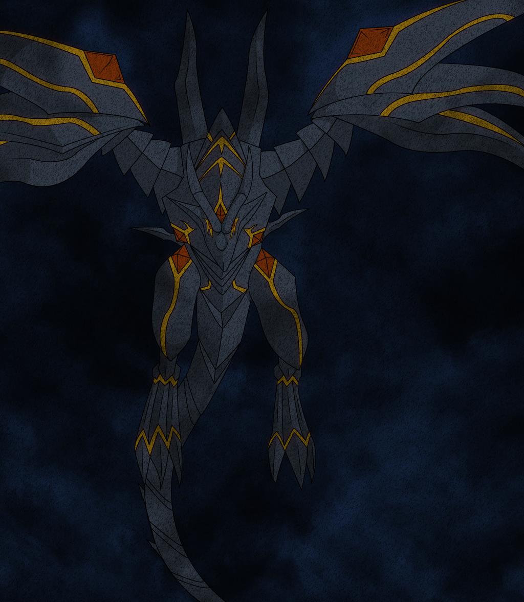 red eyes darkness dragon by orest055 on deviantart