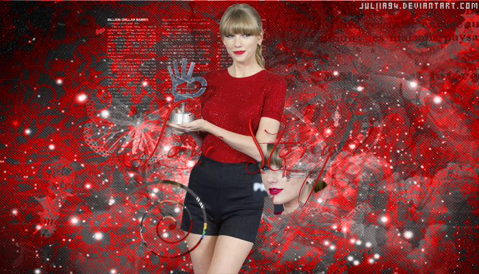Taylor Swift Red Wallpaper 2012