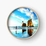Playa,  reloj