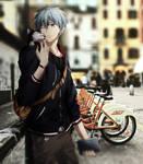City-street-bicycle - kuoroko