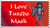 I love Tuxedo Mask stamp by princessfromthesky