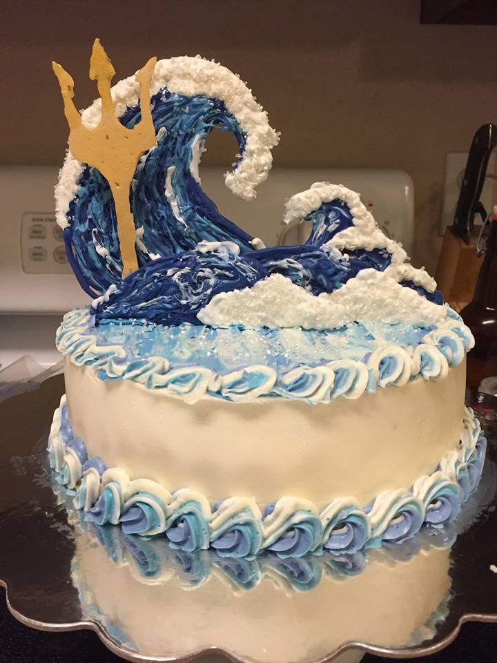 Percy Jackson Cake
