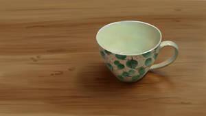 Still life teacup Diffused Neutral Lighting