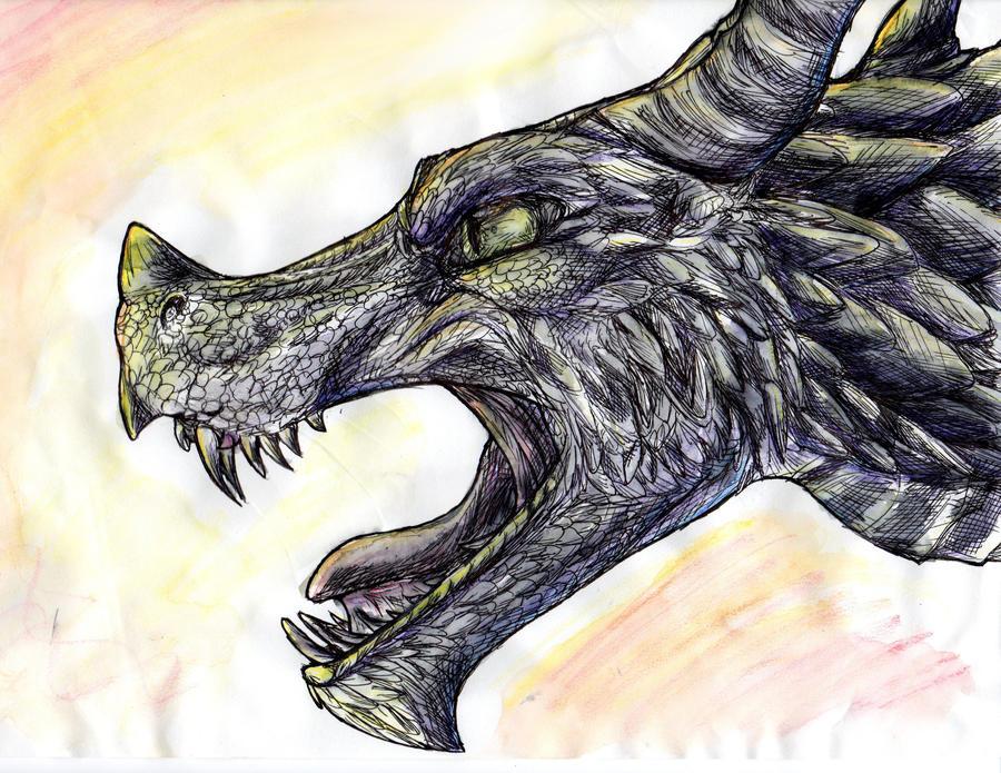 Dragon by Rae-elic