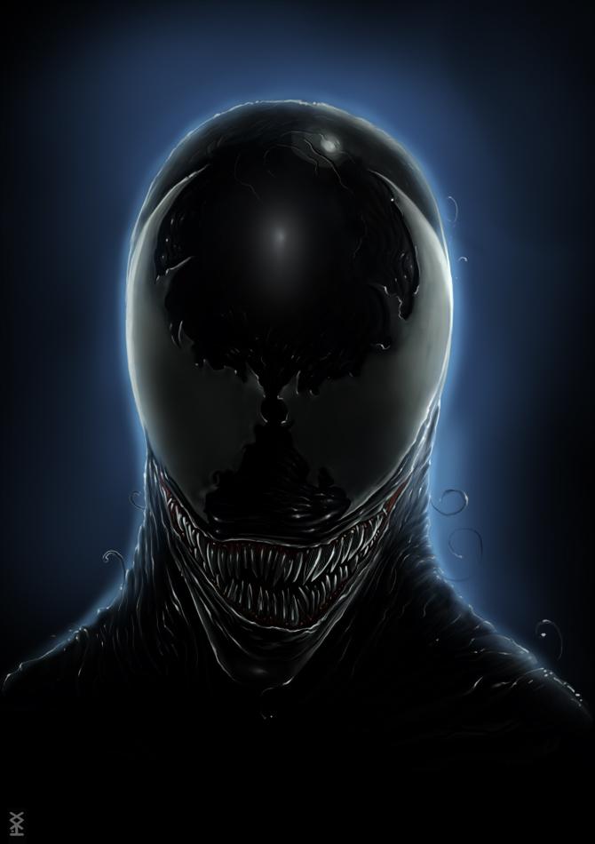Venom Bust by Akiman