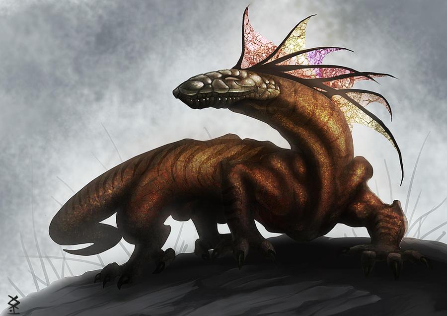 Lizard by Akiman