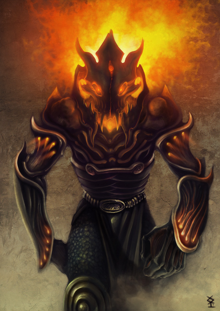 Demon Warrior Type-1 by Akiman