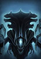 Alien Queen by Akiman