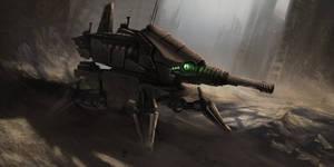 legged tank Concept