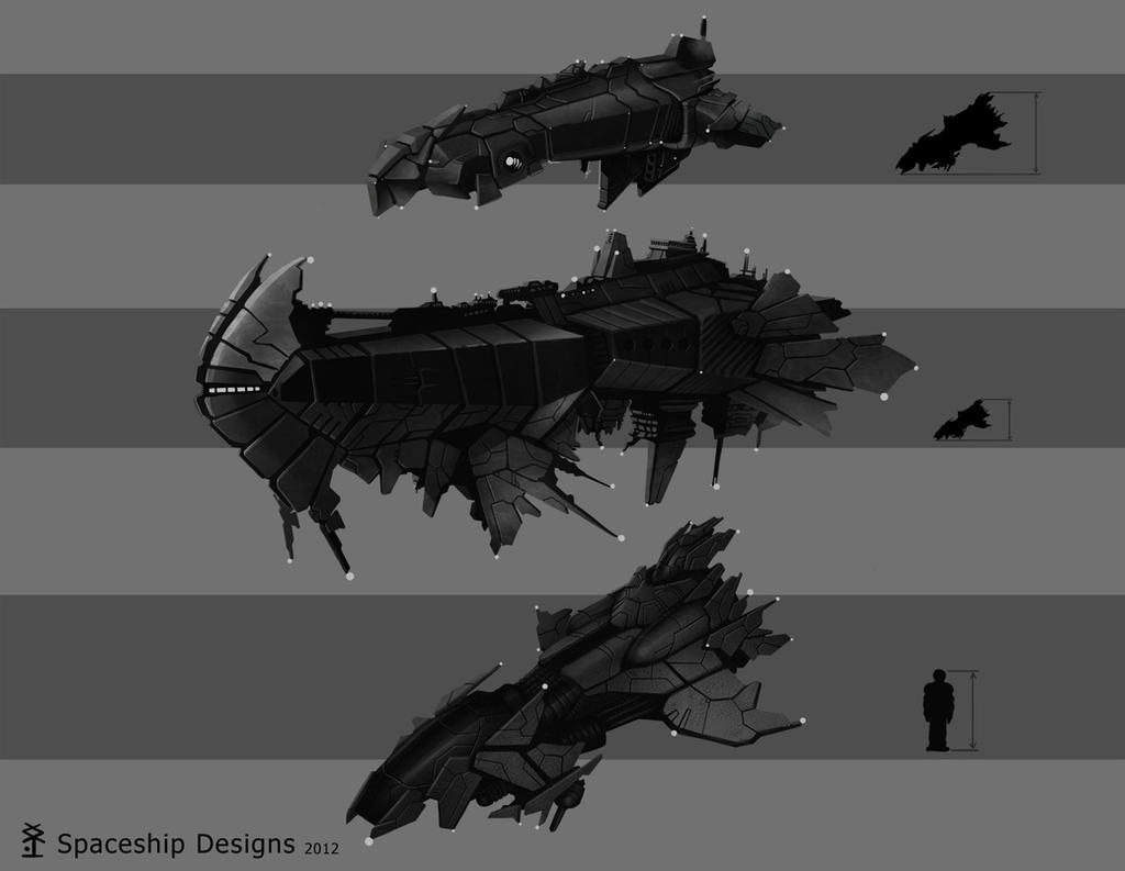 Spaceship concepts by akiman on deviantart for 11975 sunshine terrace