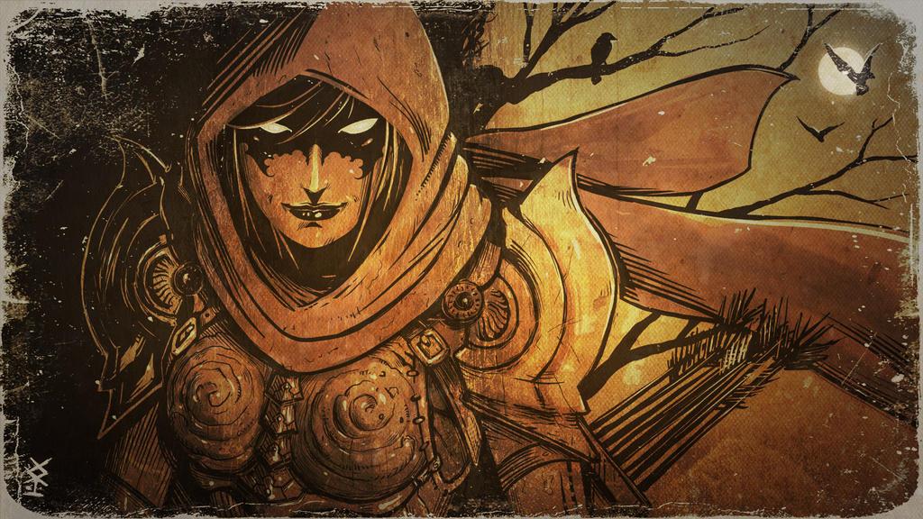 Demon Hunter Fanart by Akiman