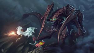 Digi-Art-Throwdown-Contest Fight-never-ends