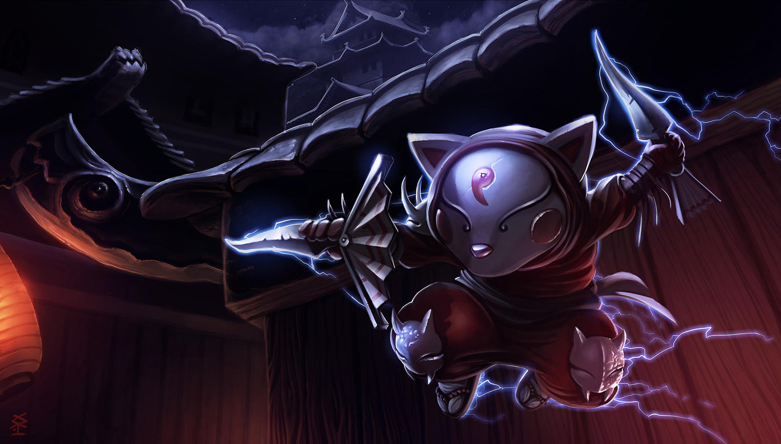Blood-moon Kennen by Akiman on DeviantArt