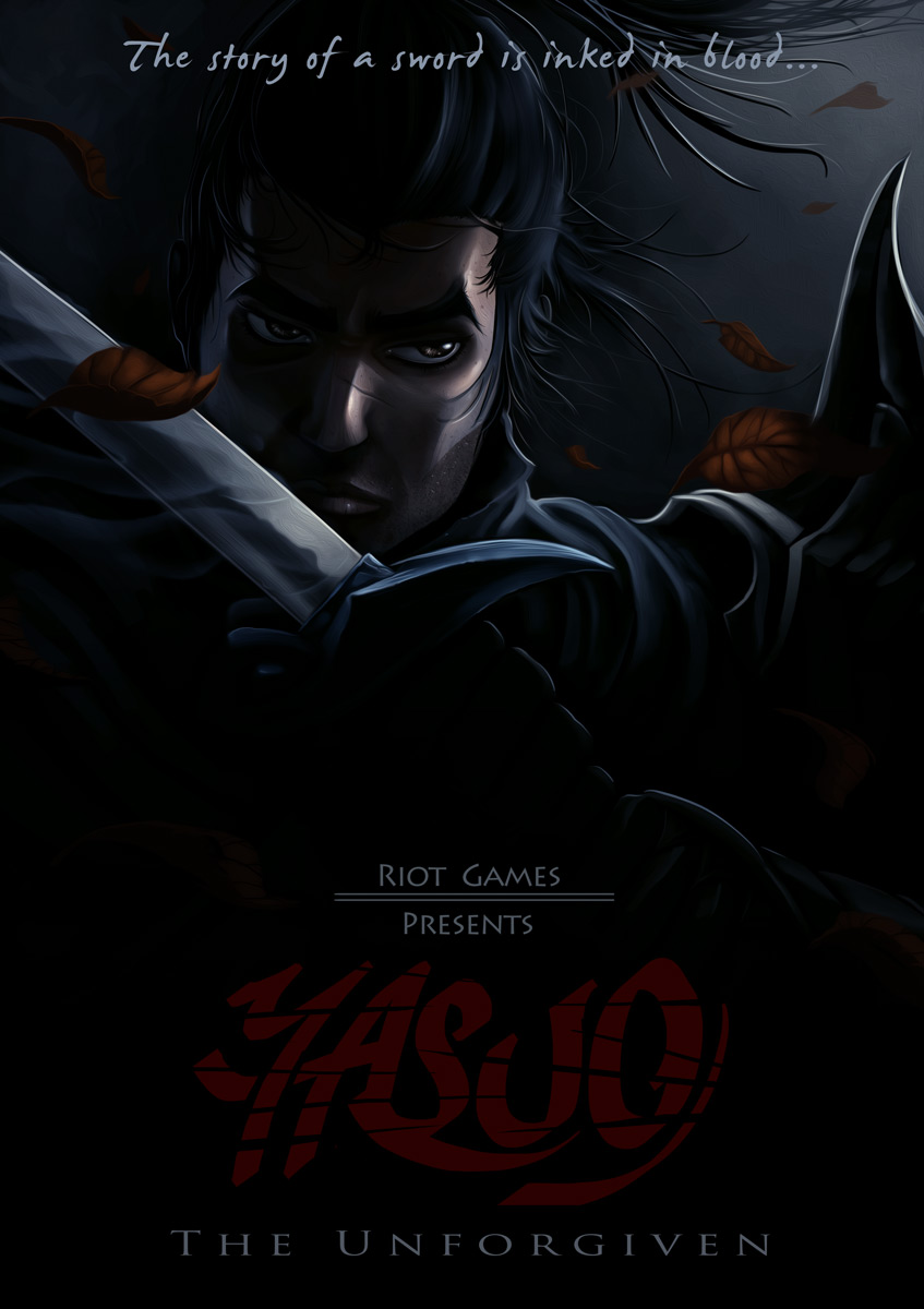 Yasuo Fan Art Contest Yasuo Poster by Akiman...