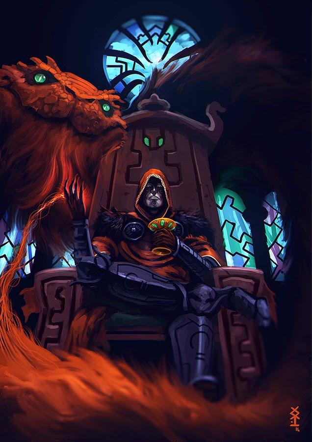 Dark conjurer by Akiman
