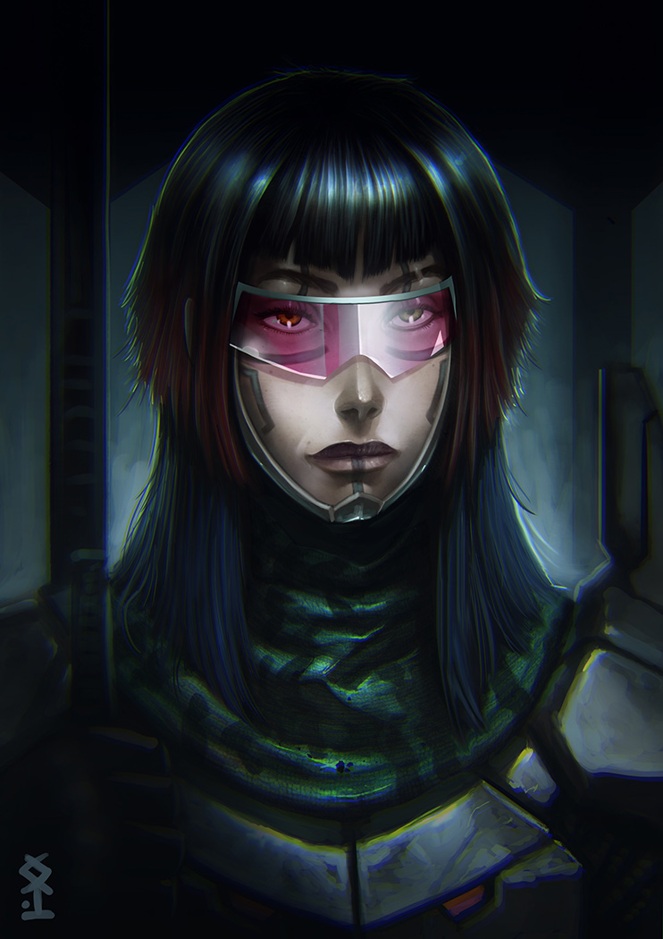 Soldier Of X by Akiman