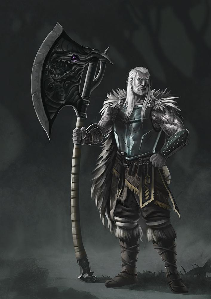 Ron The Berserker by Akiman