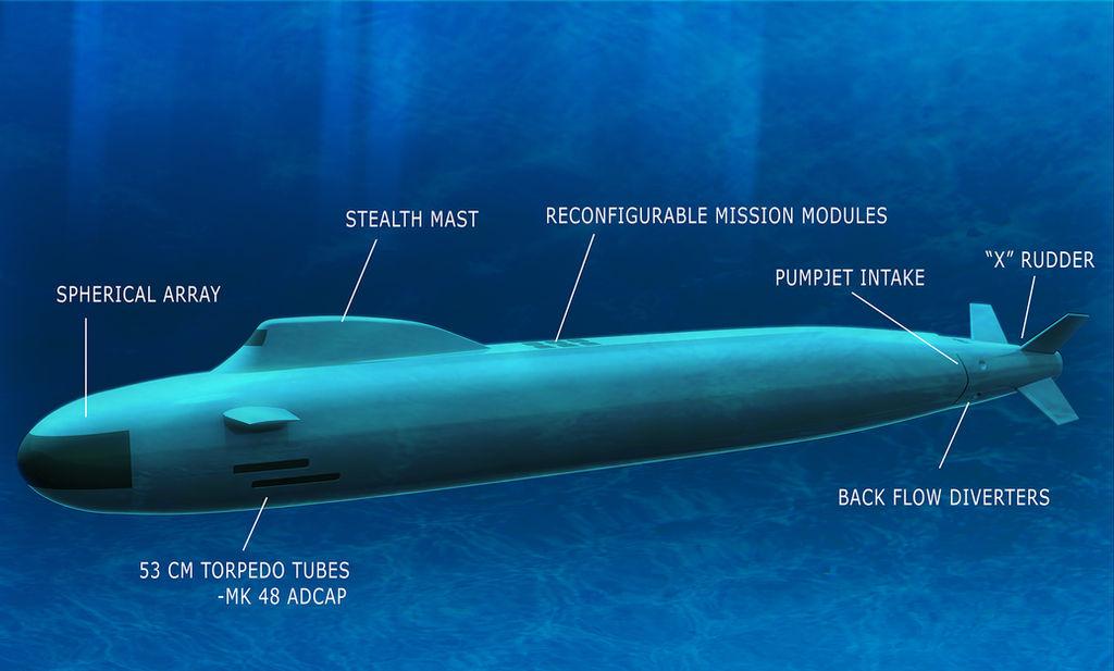 Next Generation Attack Submarine Diagram by Lebroba on DeviantArt