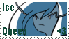 .: AT- Ice Queen Stamp :. by Ximona