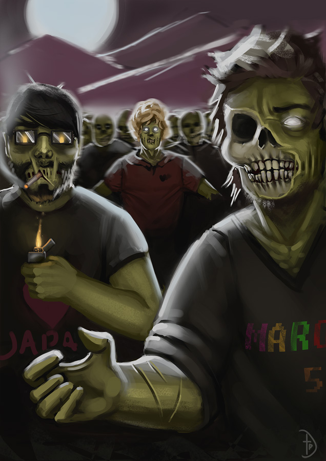 Zombies by desktop-pirate
