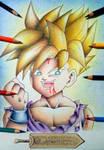 Gohan - Dragon Ball. by Maurizio1994