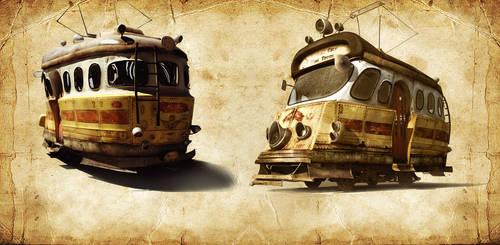City Tram by Anuk