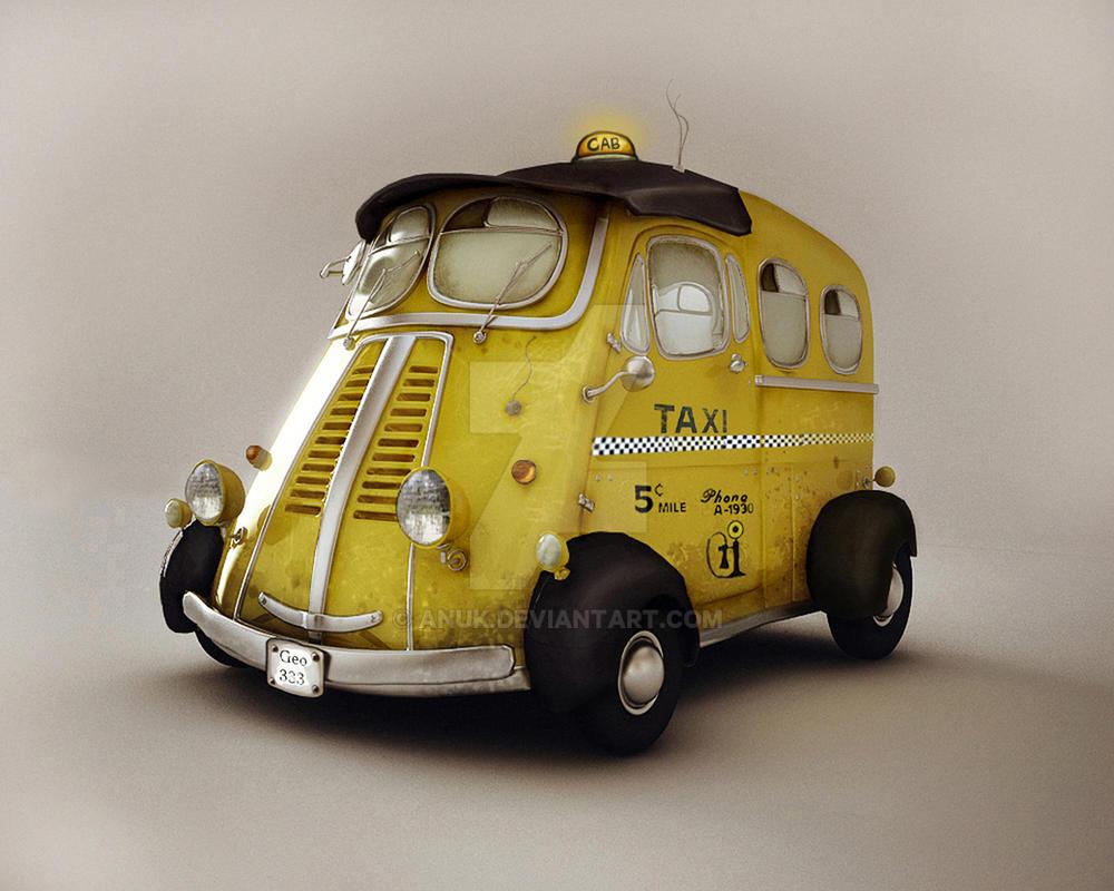 Taxi by Anuk