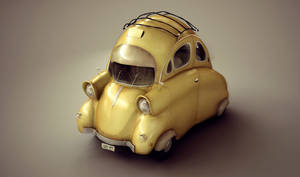 Mini Car Design by Anuk