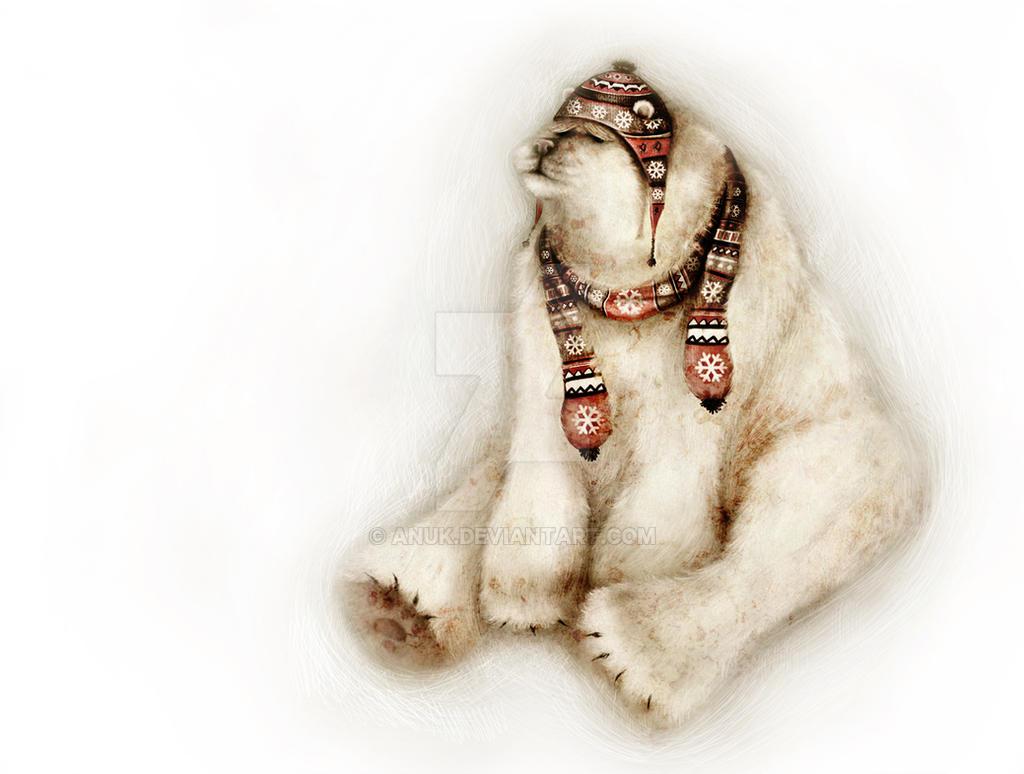Polar Bear by Anuk
